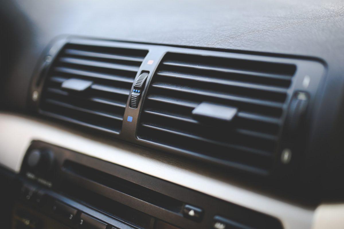 Bild von Klimaanlage im Auto