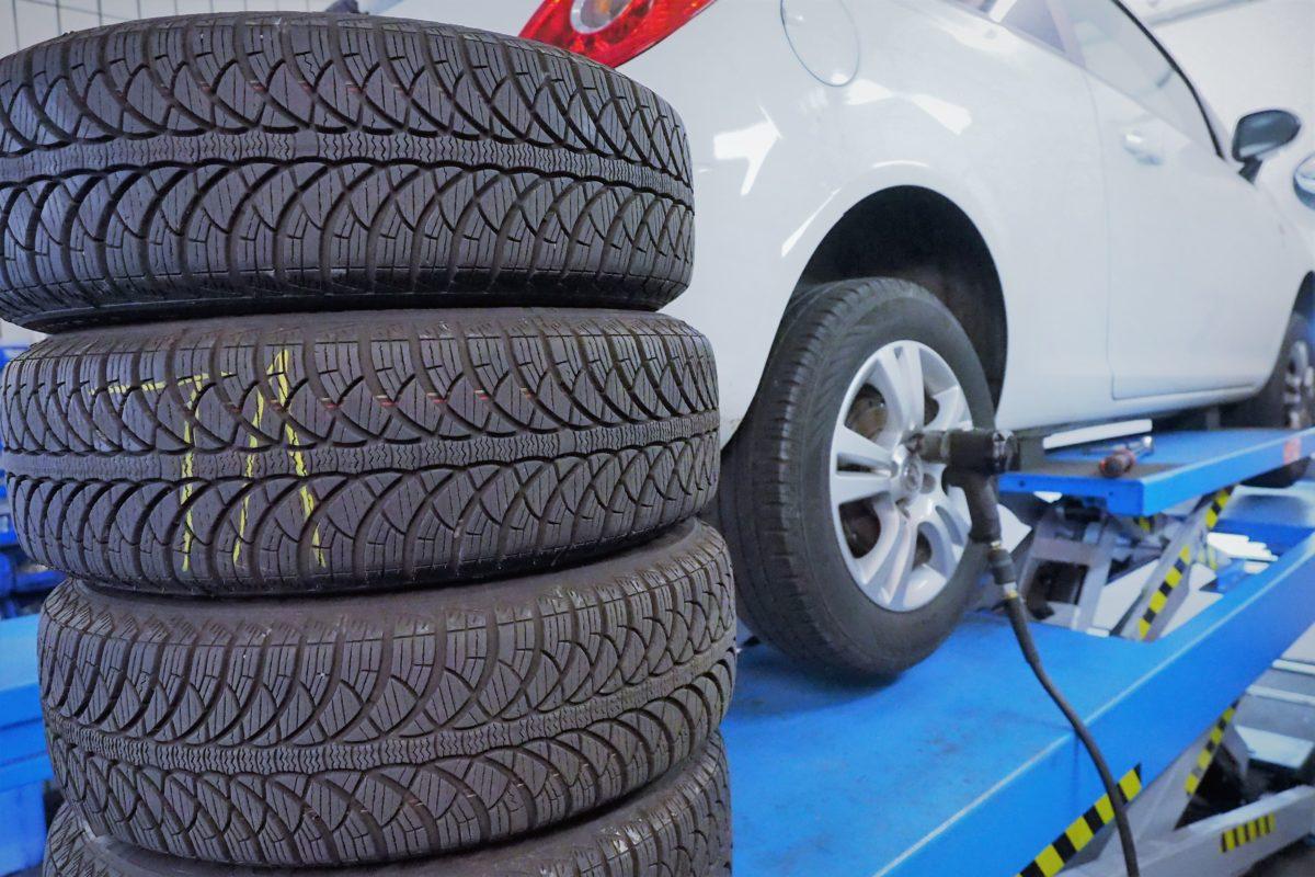 Reifen für den Reifenwechsel