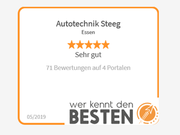 Jetzt mehr über Kundenbewertungen bei Autotechnik und Reifendienst Steeg in Essen erfahren!