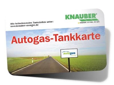 Ansicht Knauber Autogaskundenkarte