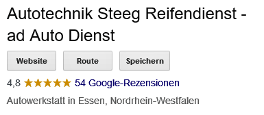 Google Bewertung Autotechnik Steeg 5 Sterne