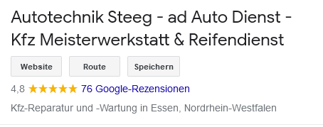Google Bewertung Autotechnik Steeg